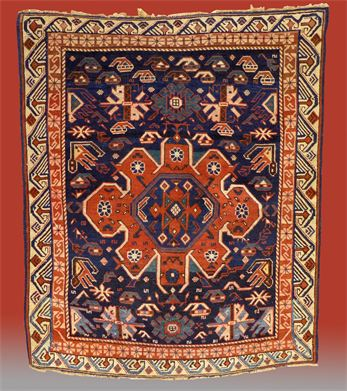 Item: #050514A Antique Caucasian Oriental Rug Please inquire. Thank You!!