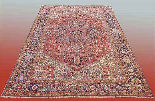 #27366 Antique Heriz Oriental Rug Please Inquire