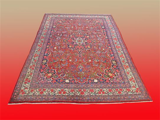 Item: #12-10-0910 Antique Bijar Oriental Rug, Please inquire, Thank You!